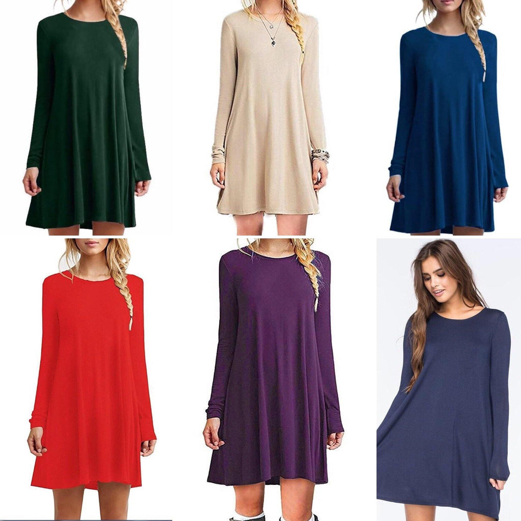 Basic Tunic Tee Arabian Basic  (Long Sleeve) - Samiha Apparels