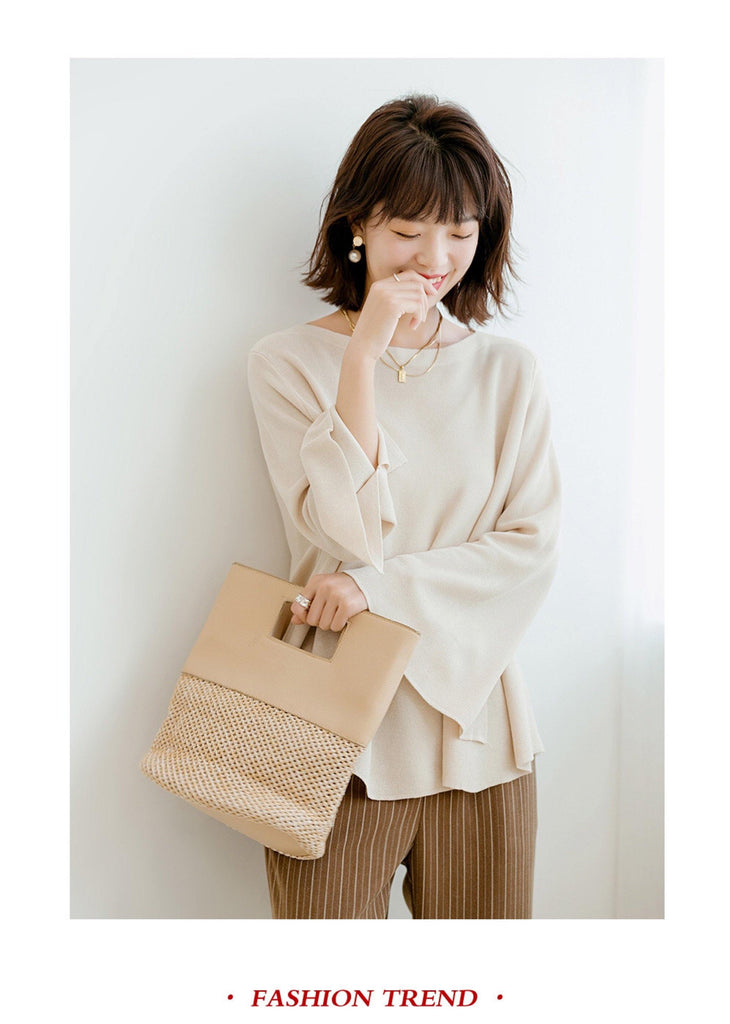 Korean Knitted pullover Bella