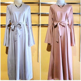 Bella Maxt Dress  - Plain