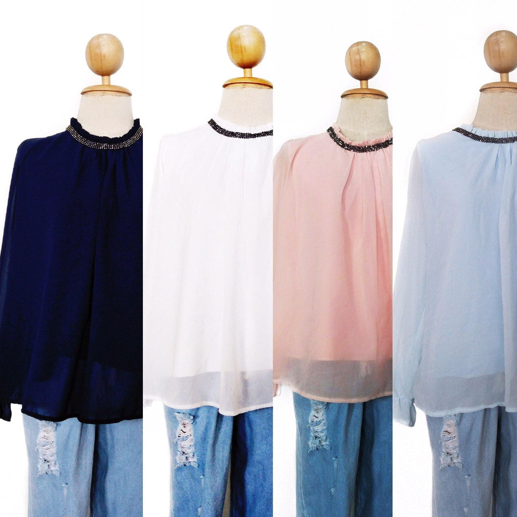 Plain Casual tops - Taylor - Samiha Apparels