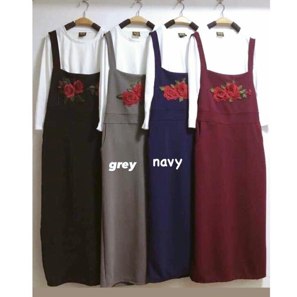 Pinafore Dress - Sara