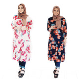 Floral Ruffle Maxi Dress - Ashan (New)