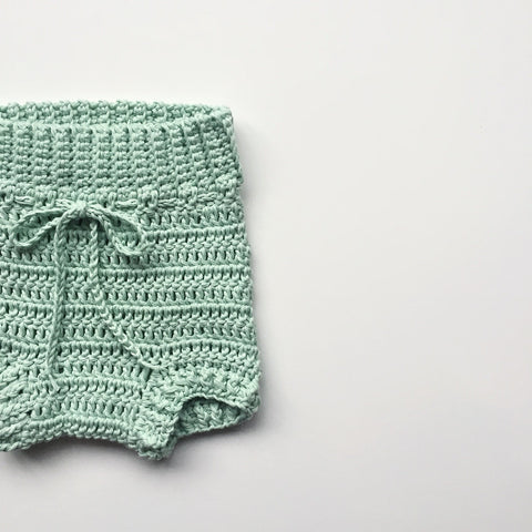 Hand Knit Cotton Bloomers