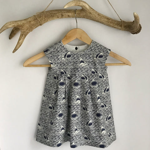 Dark and Stormy toddler dress