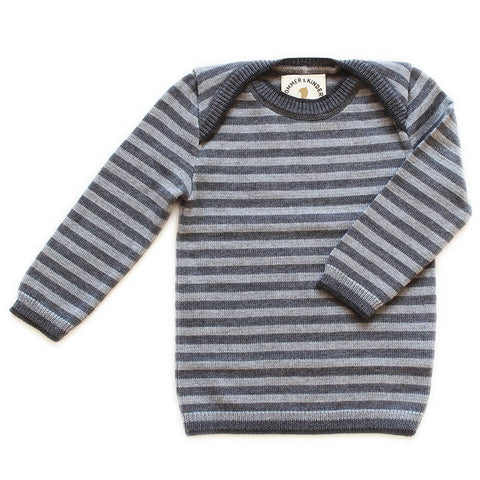 Knitted Pullover for Babys, Kids, Merinowool