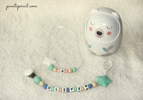 Set of Silicone Teether and Necklace