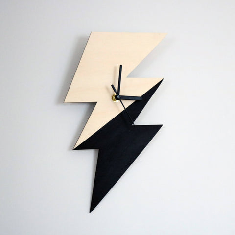 Decorative Wall Clock - Bolt