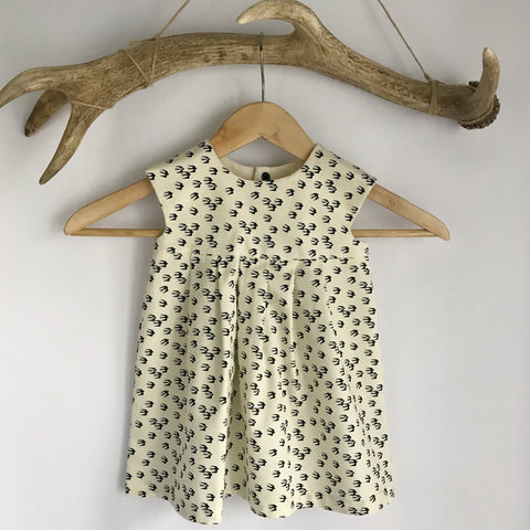 Swallow toddler dress