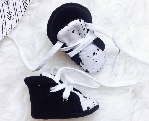 Splatter Print Baby Shoes