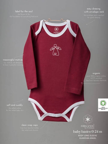 BABY BODY GUARDIAN ANGEL EARTH RED