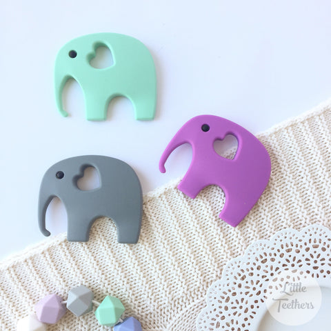 Elephant Silicone Teether