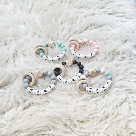 Personalised Baby Teethers