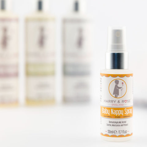 Harry & Rose Baby Nappy Spray (50ml)