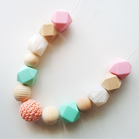 Superhero Collective - Handmade Teething Necklace