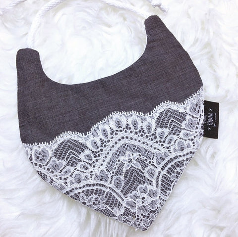 Luxury Lace Dribble Bib