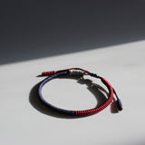 HANDMADE KNOTS LUCKY ROPE BRACELET ( Galaxy )