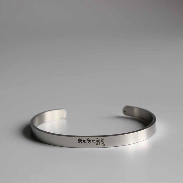 Six True Mantra Words Bangle