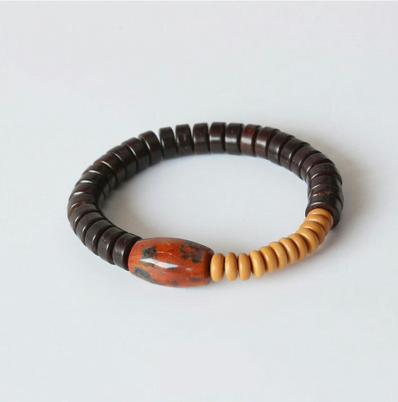 Fire Agate Power Bracelet