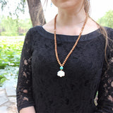 Lotus Mala Necklace