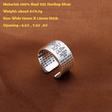 The Heart Of Prajna Paramita Sutra Ring