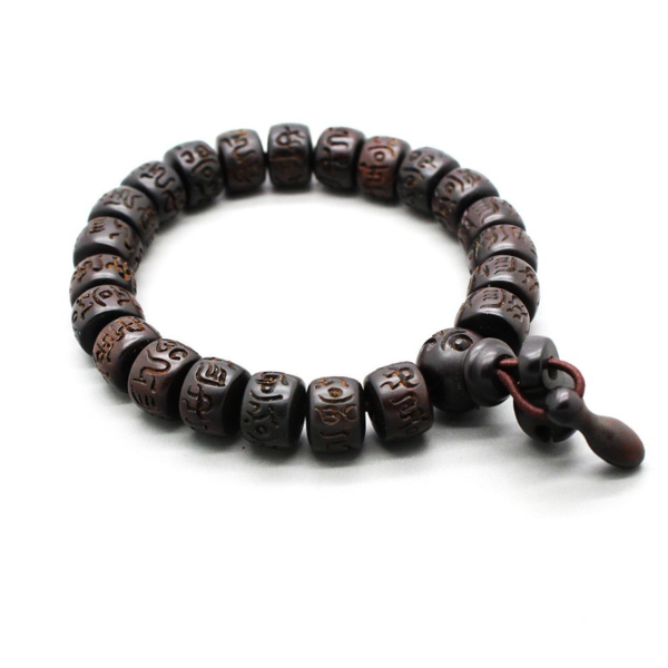 beads men charm bead in bracelets prayer free bracelet quality item wooden high mara natural wood head from shipping buddha s