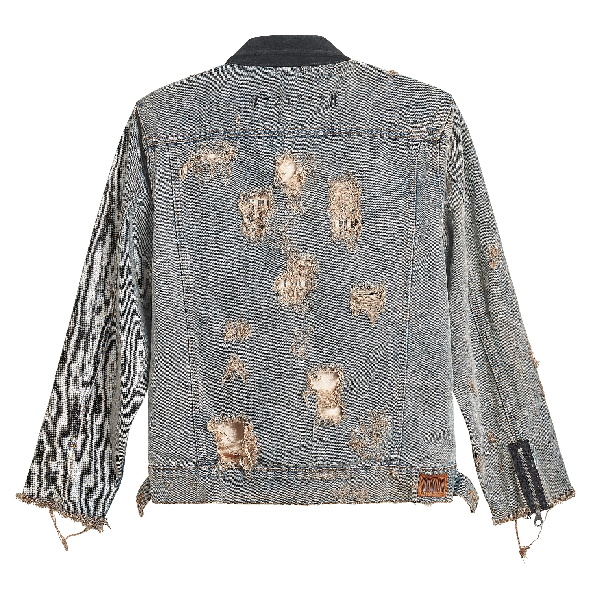 DIAMOND TRUCKER DENIM JACKET