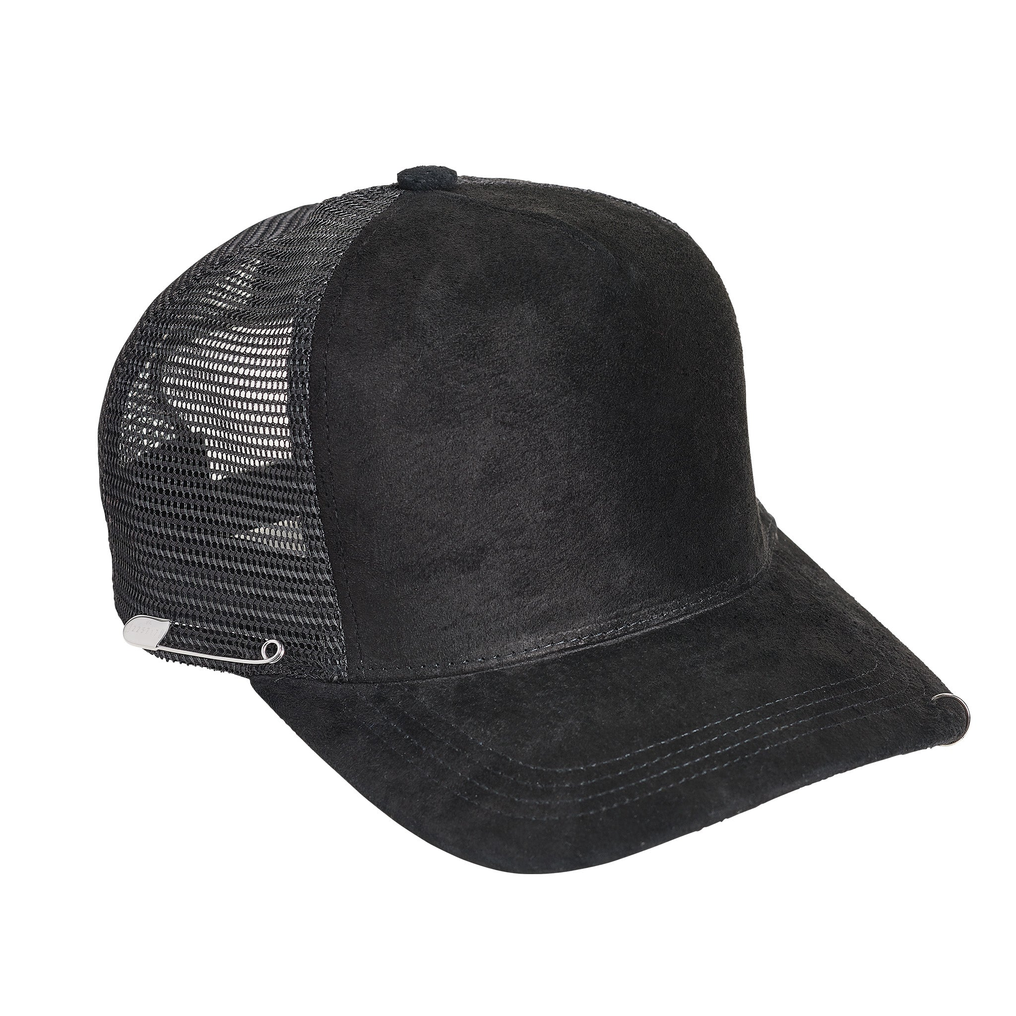 SUEDE TRUCKER HAT