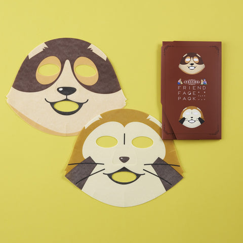 World Masterpiece Theater Friend Rascal & Patrasch Face Mask