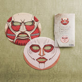 Attack on Titans Face Mask (Colossus Titan & Female Titan)