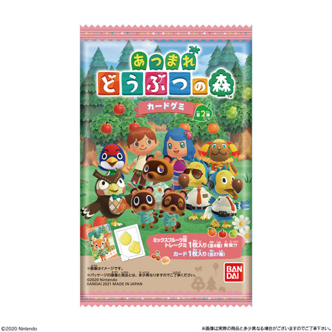Animal Crossing Cards & Gummies