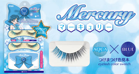 Sailor Moon Color Eyelash Set - Mercury