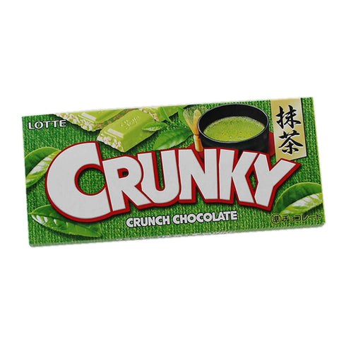 Green Tea Crunky - damaged package