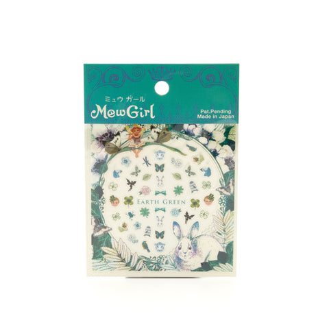 MewGirl Nail Stickers