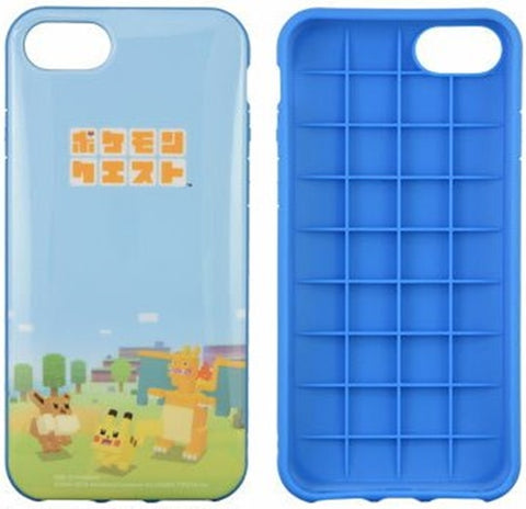 Pokemon Quest rounded phone case for iPhone 8 / 7 / 6s / 6