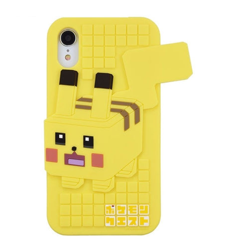 Pokemon Quest Pikachu phone case for iPhone XR