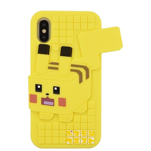 Pokemon Quest Silicone phone case for iphone XS/S