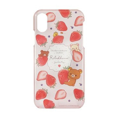 Rilakkuma strawberry phone case for Iphone XR