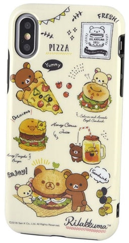 Rilakkuma food phone case for Iphone XS/X