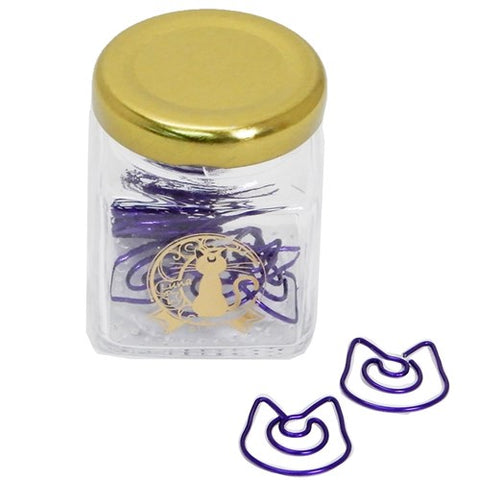 Saillor Moon: Luna Stationary Clips & Jar
