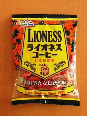 Lioness Coffee Candy
