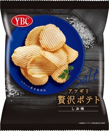 Luxurious Thick Sliced Salt Flavored Potato Chips