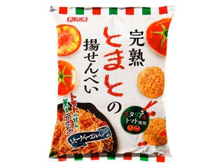 Tomato Fried Rice Crackers