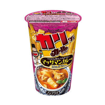 Curl Stick Massaman Curry Corn Snack