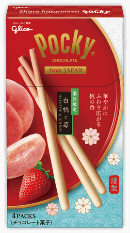 Pocky White Strawberry and Peach
