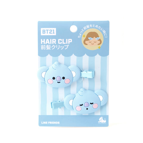 BT21 Hair Clips