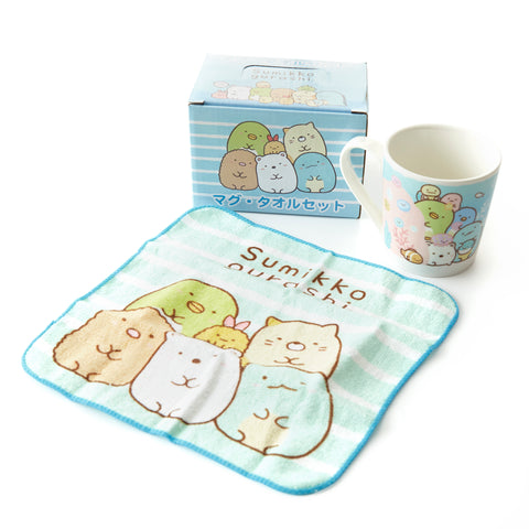 Sumikko Gurashi Mug & Tea Towel Set
