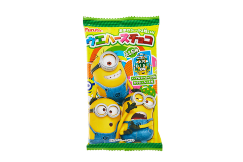 Minions Chocolate Wafer