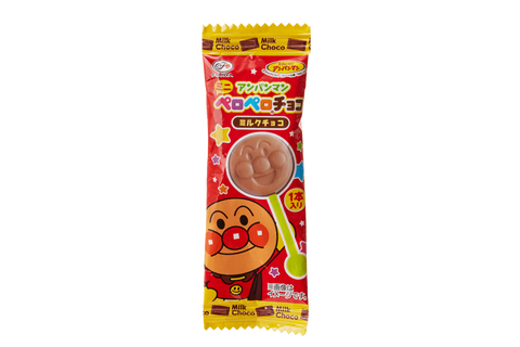 Fujiya Anpanman Mini Chocolate Lollipop 10 piece set