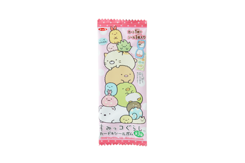 Sumikkogurashi Card and Seal Gum