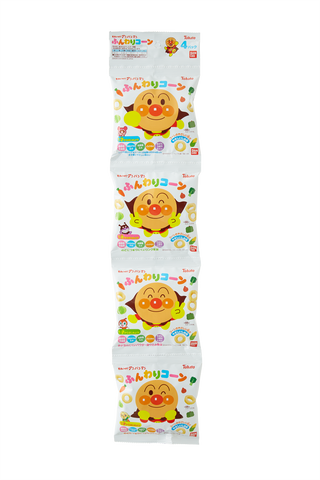 Anpanman Soft Corn 4 pack